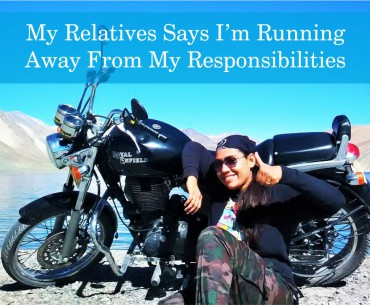 My Relatives Says I'm Running Away From My Responsibilities