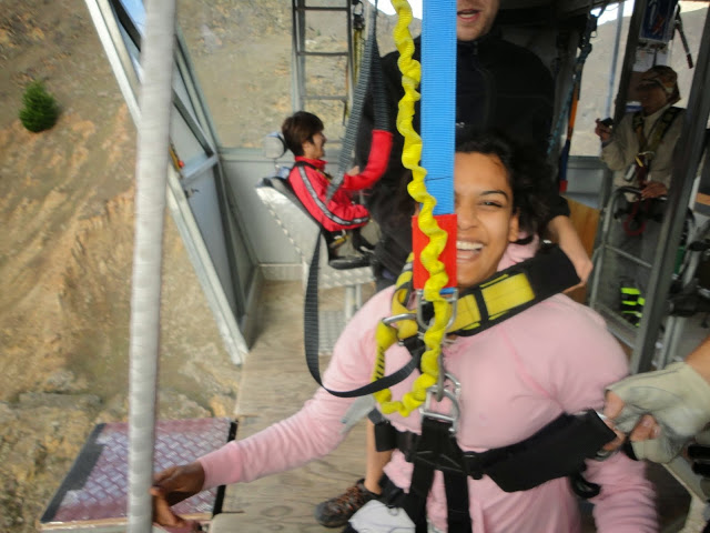 after jump, Skydiving or Bungee Jumping