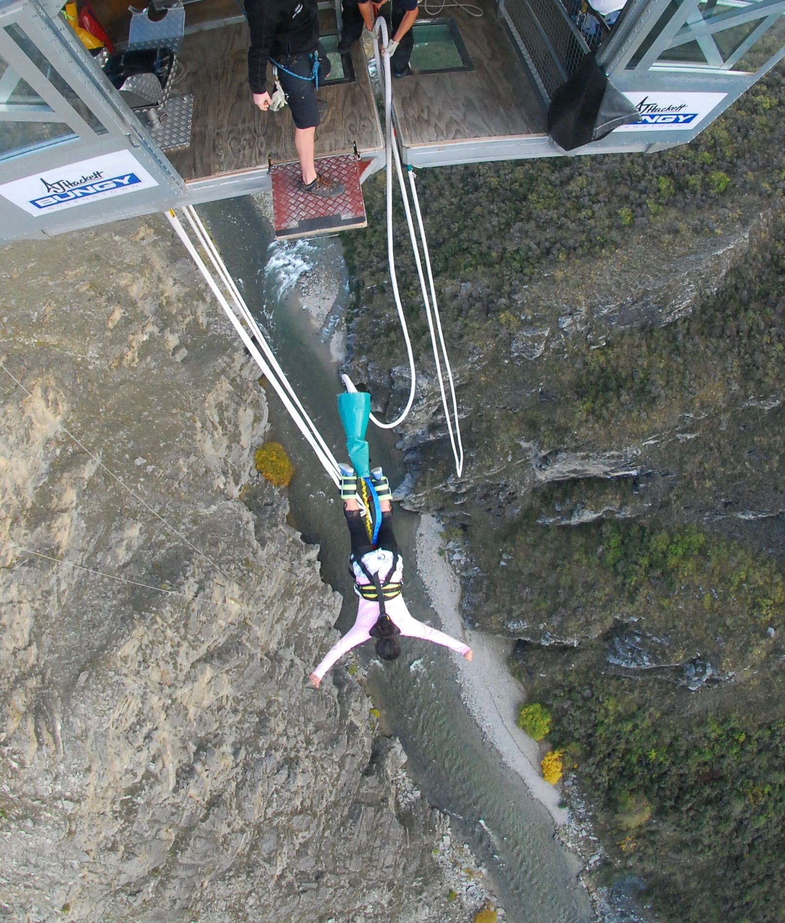 Skydiving or Bungee Jumping