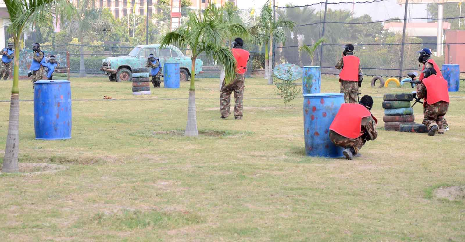 2. Play Paintball in Jaipur