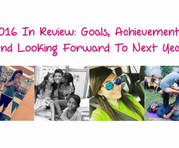 2016 IN REVIEW GOALS, ACHIEVEMENTS AND LOOKING FORWARD TO NEXT YEAR