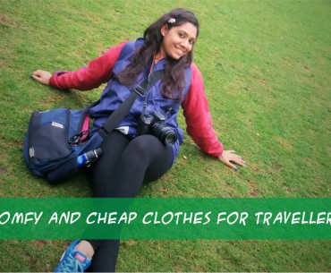 Comfy and Cheap Clothes for Travellers