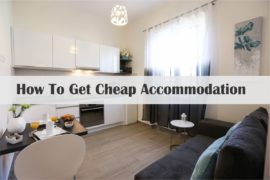 How To Get Cheap Accommodation Cover Page
