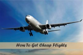 How To Get Cheap Flights Cover Page