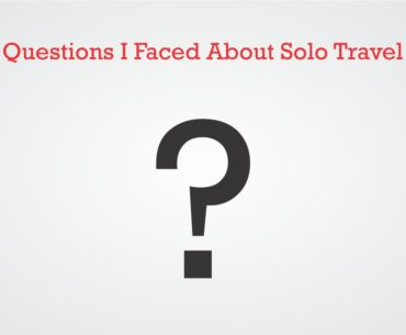 Questions I Faced About Solo Travel Cover Page