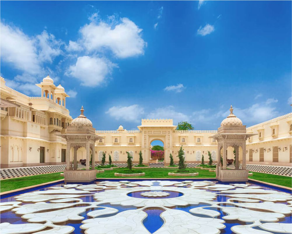 The Oberoi Udaivilas – Unsurpassed Architectural Beauty