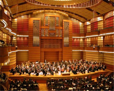 A world class concert hall