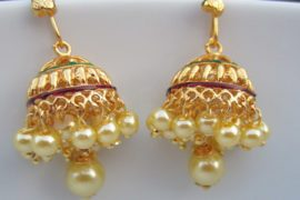 Wear it traditional or contemporary, Indian Jhumkas can never go wrong