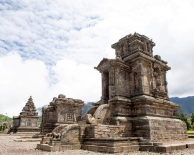 Dieng Plateau In Indonesia