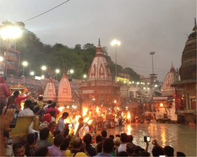 Ganga Aarti at Haridwar