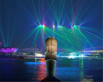 Marina Bay Sands Show In Singapore