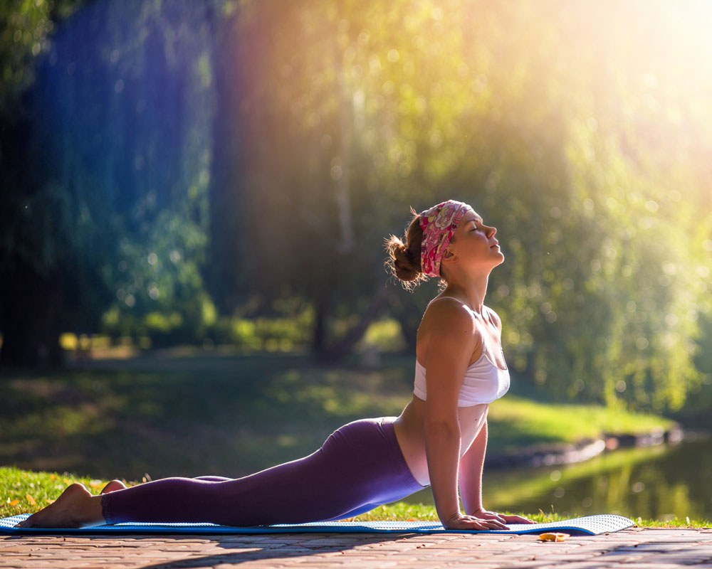 Reducing physical issues with Yoga