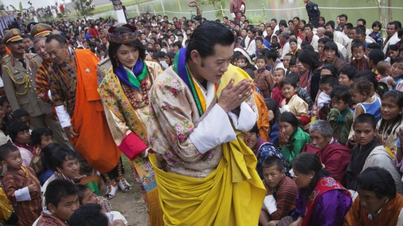 Bhutanese Are Fond Of Royal Family 1