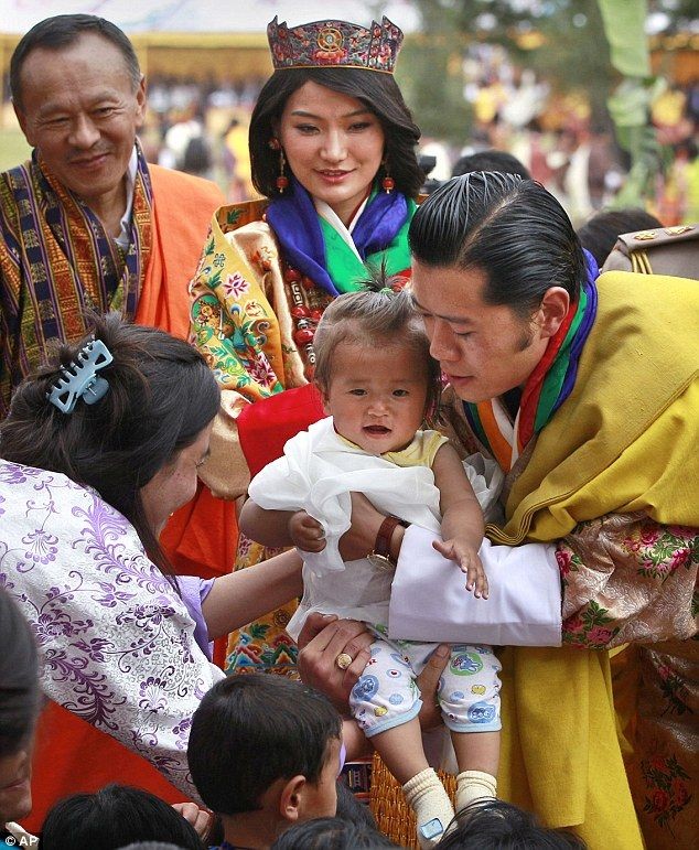 Bhutanese Are Fond Of Royal Family 2