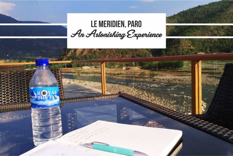 Le Meridian Paro An Astonishing Experience Cover