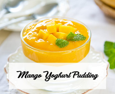 Mango Yoghurt Pudding Cover