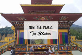 Must See Places In Bhutan Cover