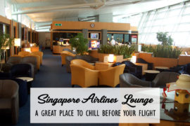 Singapore Airlines Lounge Cover