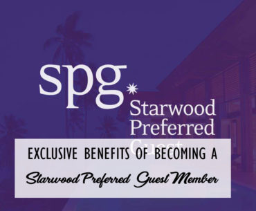 Starwood Preferred Guest Cover