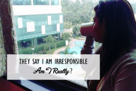 I Am Irresponsible Cover 1