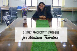 Productivity Strategies For Business Travelers Cover