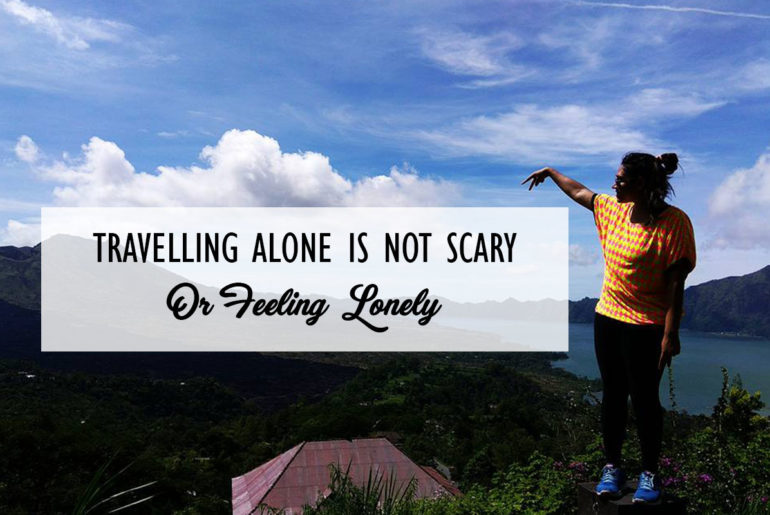 Travelling Alone Is Not Scary Cover